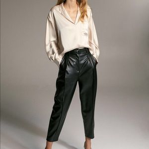 Aritzia Leather Pants